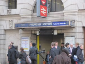 Moorgate station ws