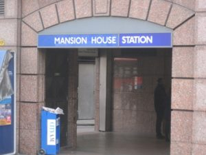 mansion house station ws